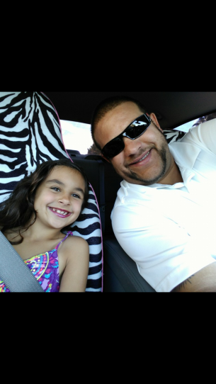 Amani and daddy